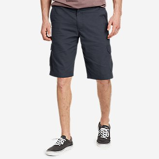 Men's Timber Edge Ripstop Cargo Shorts in Blue