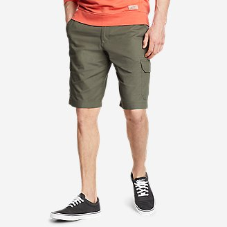 Men's Timber Edge Ripstop Cargo Shorts in Green