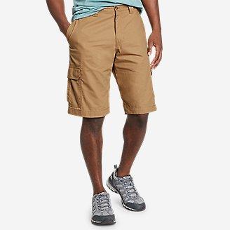 Men's Timber Edge Ripstop Cargo Shorts in Beige