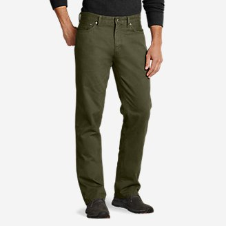 Men's Legend Wash Jeans - Straight Fit in Green