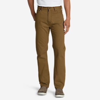 Men's Legend Wash Jeans - Straight Fit in Brown