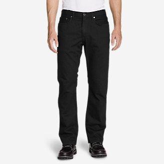 Men's Flex Jeans - Straight Fit in Black