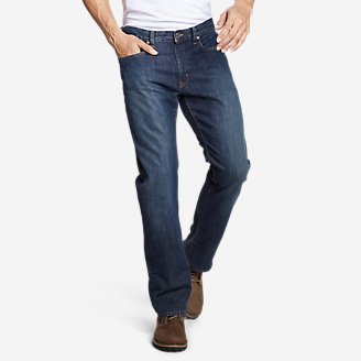 Men's Flex Jeans - Straight Fit in Gray