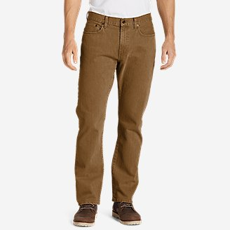 Men's Flex Jeans - Straight Fit in Brown