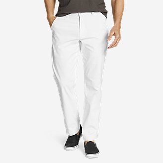Men's Horizon Guide Chino Pants in White