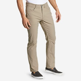 Men's Horizon Guide Five-Pocket Pants - Straight Fit in Beige