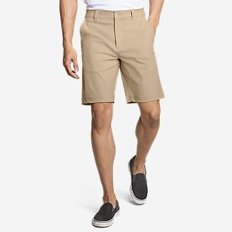 Men's Horizon Guide 10' Chino Shorts in Beige