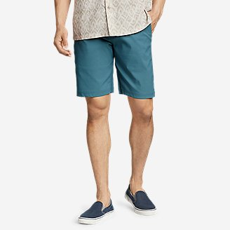 Men's Horizon Guide 10' Chino Shorts in Blue