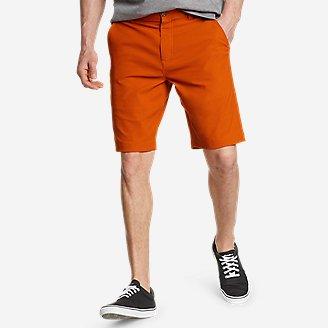 Men's Horizon Guide 10' Chino Shorts in Orange