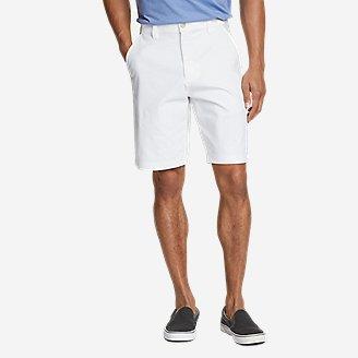 Men's Horizon Guide 10' Chino Shorts in White