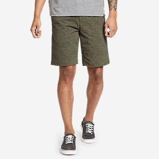 Men's Horizon Guide Chino Shorts - Pattern in Green