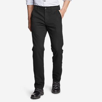 Men's Flex Wrinkle-Resistant Sport Chinos - Classic in Black