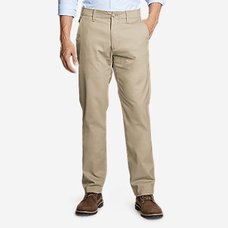 Men's Flex Wrinkle-Resistant Sport Chinos - Classic in Beige