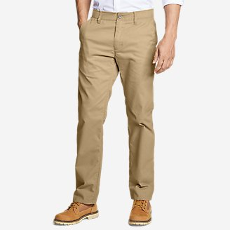 Men's Flex Wrinkle-Resistant Sport Chinos - Classic in Brown