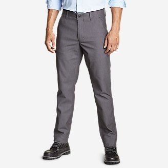 Men's Flex Wrinkle-Resistant Sport Chinos - Classic in Gray