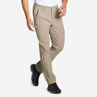 Men's Horizon Guide Chino Pants - Slim Fit in Beige