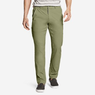 Men's Horizon Guide Chino Pants - Slim Fit in Green