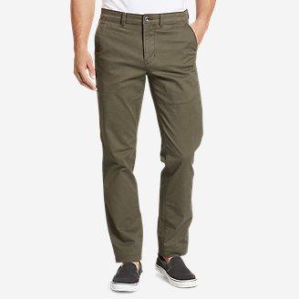 Men's Legend Wash Flex Chino Pants - Slim in Green