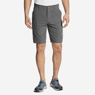 Men's Amphib Cargo Shorts in Gray