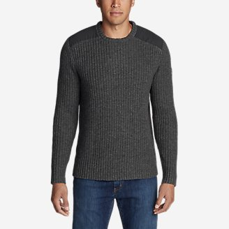 Men's Field Utility Crew Sweater in Gray
