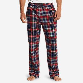 Men's Flannel Sleep Pants in Blue