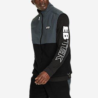 EBTek Fleece Vest in Black