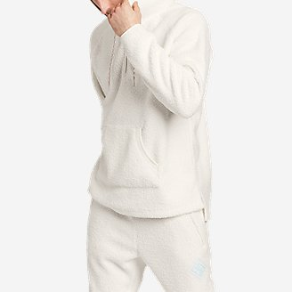 Eddie Bauer X Baja East Sherpa Pullover in White