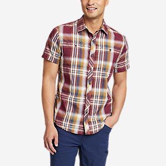 Men's Greenpoint Short-Sleeve Shirt in Brown