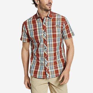 Men's Greenpoint Short-Sleeve Shirt in Orange