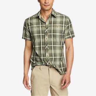 Men's Greenpoint Short-Sleeve Shirt in Green