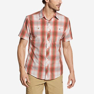 Men's Greenpoint Short-Sleeve Shirt in Red