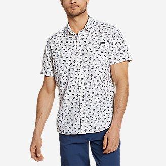Men's Mountain Short-Sleeve Shirt - Print in Blue