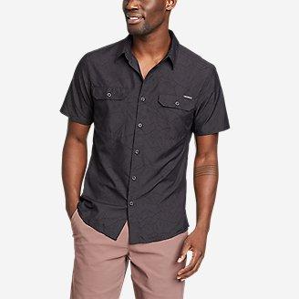 Men's Mountain Short-Sleeve Shirt - Print in Gray