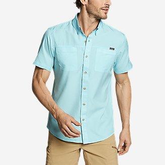 Men's Ventatrex Short-Sleeve Shirt in Blue