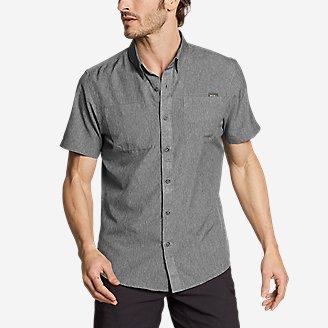 Men's Ventatrex Short-Sleeve Shirt in Gray
