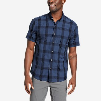 Men's On The Go Mountain Shirt in Blue