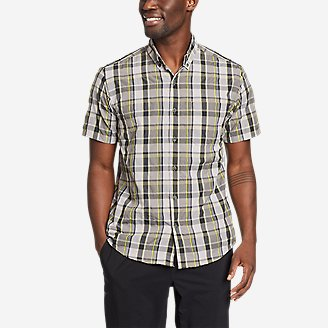 Men's On The Go Mountain Shirt in Gray
