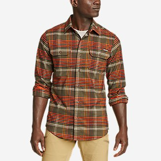 Men's Ultimate Expedition Flex Flannel Shirt in Green