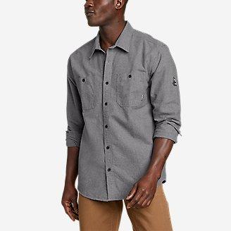 Men's Snowcat Storm Chamois Shirt in Gray