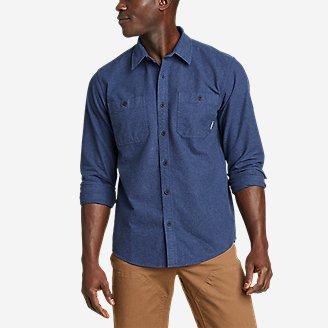 Men's Snowcat Storm Chamois Shirt in Blue