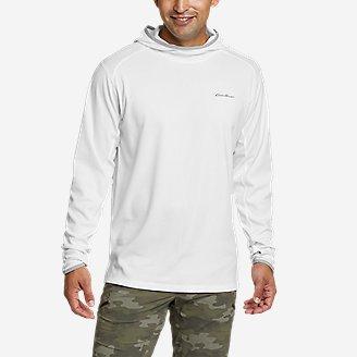 Men's Solarfoil UPF Hoodie in White