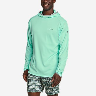 Men's Solarfoil UPF Hoodie in Green