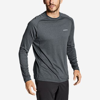Men's Resolution Long-Sleeve T-Shirt in Gray