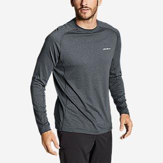 Men's Resolution Long-Sleeve T-Shirt in Gray
