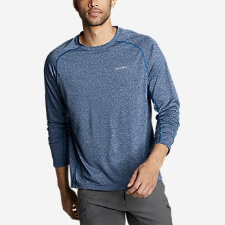 Men's Resolution Long-Sleeve T-Shirt in Blue