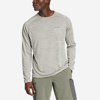 Men's Resolution Long-Sleeve T-Shirt in Beige