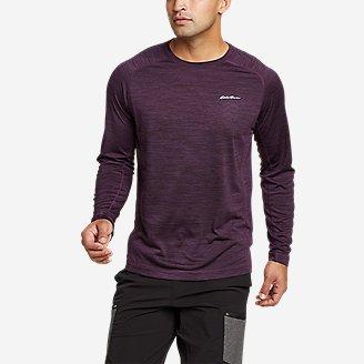 Men's Resolution Long-Sleeve T-Shirt in Purple