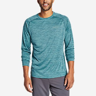 Men's Resolution Long-Sleeve T-Shirt in Green