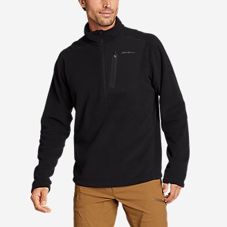 Men's Cloud Layer Pro 1/4-Zip Pullover in Black