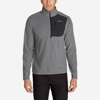 Men's Cloud Layer Pro 1/4-Zip Pullover in Gray